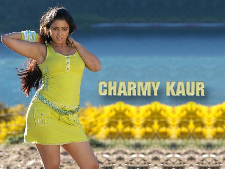 Charmy Kaur Hottest Wallpaper