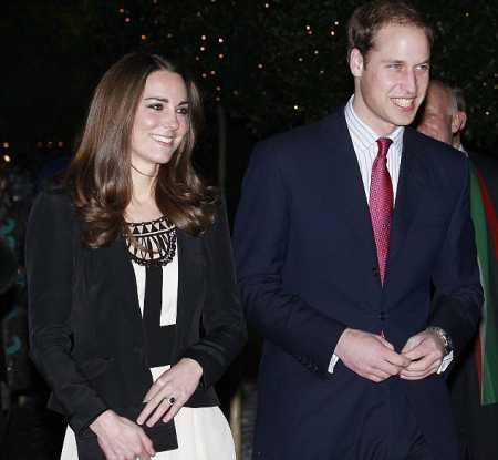 Prince William and Kate Middleton Glamour Still