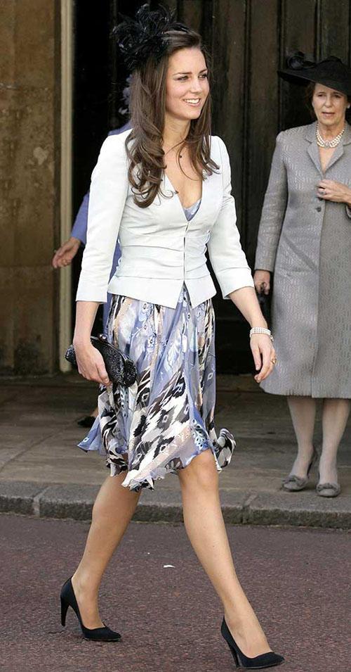 White Beauty Kate Middleton Still