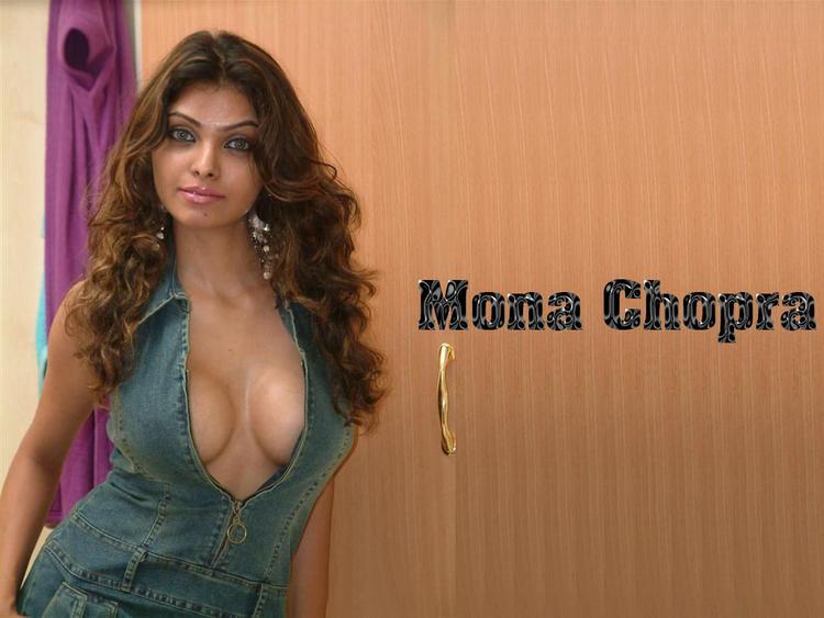 Hottie Mona Chopra Shocking Wallpaper