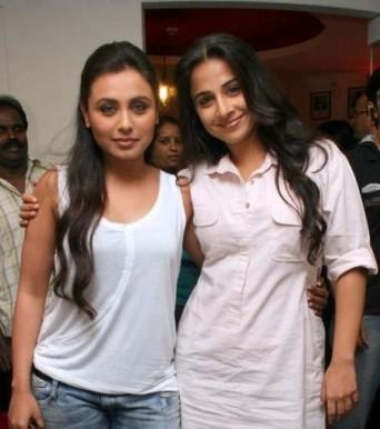Vidya Balan And Rani Mukherjee Photo