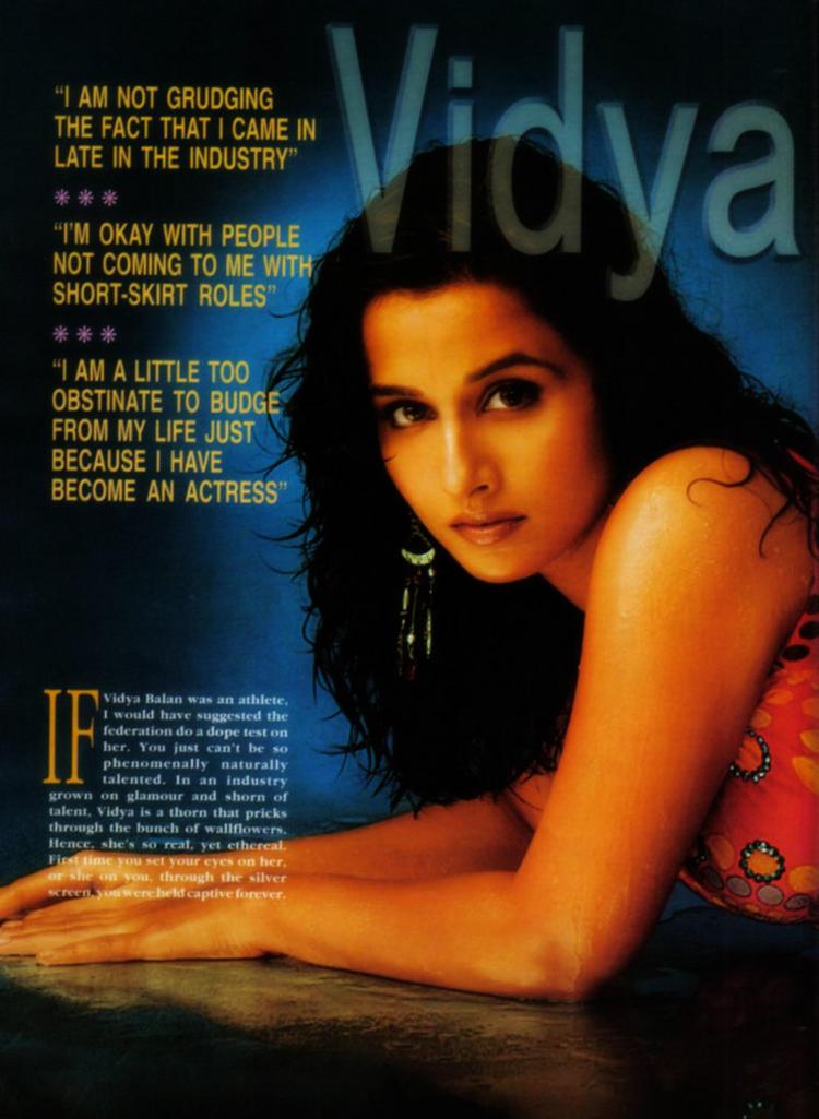 Vidya Balan Magazine Stills