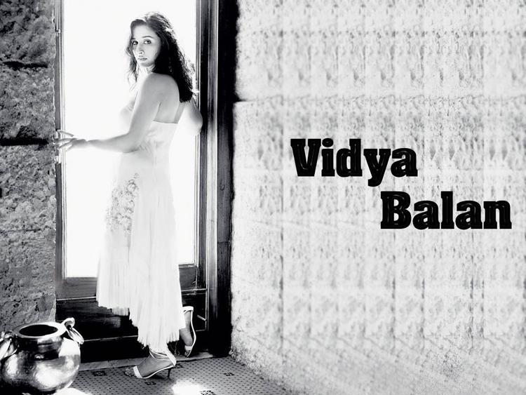 Vidya Balan NIce Look Wallpaper
