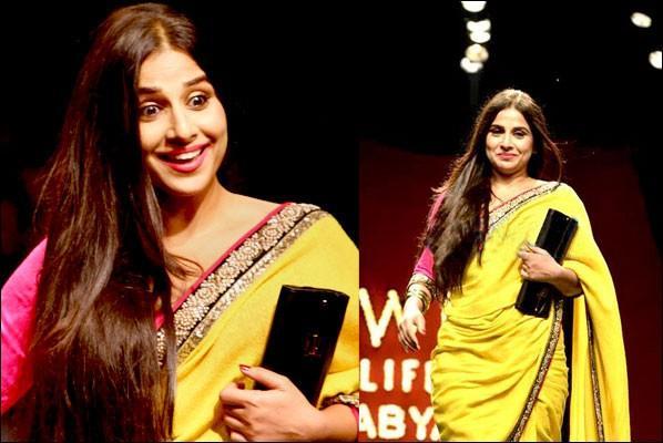 Vidya Balan At WIFW