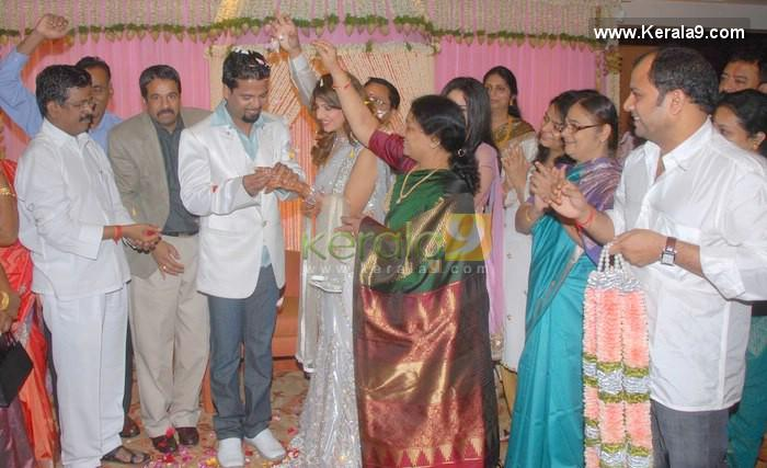 Rambha Marriage With Her Family