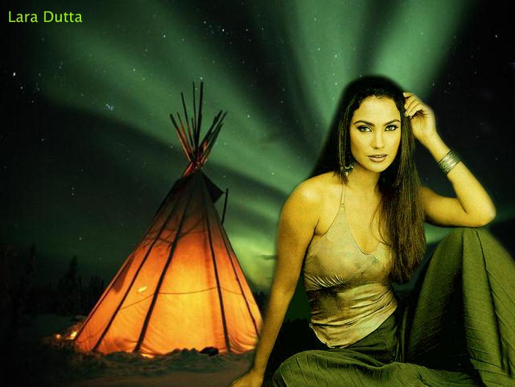 Hot Actress Lara Dutta Wallpaper