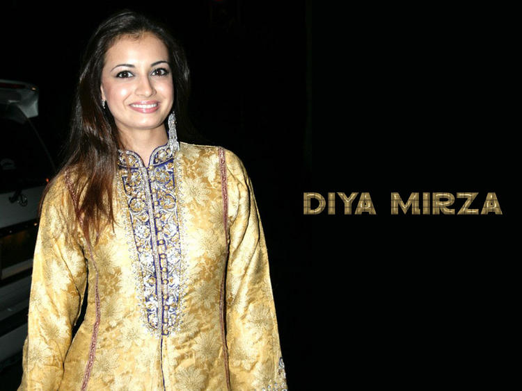 Diya Mirza Looking Very Gorgeous