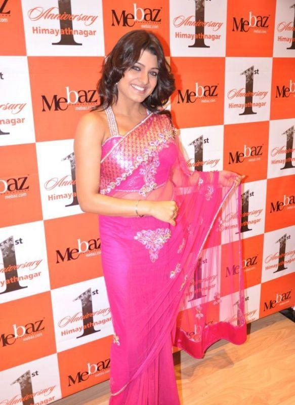 Tashu Kaushik Beauty Still In Net Saree