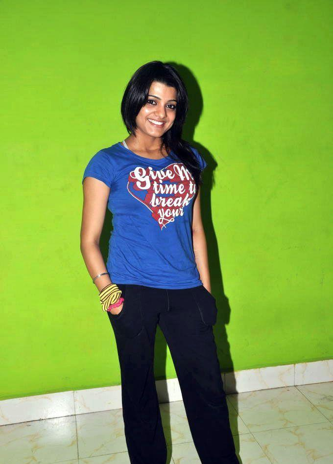 Tashu Kaushik Blue T Shirt Still