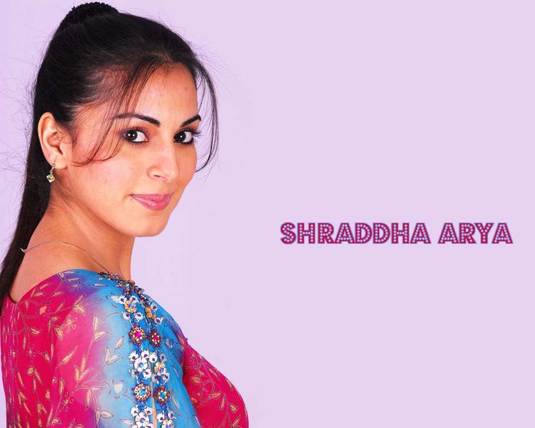 Shraddha Arya Dazzling Face Look Photo Shoot