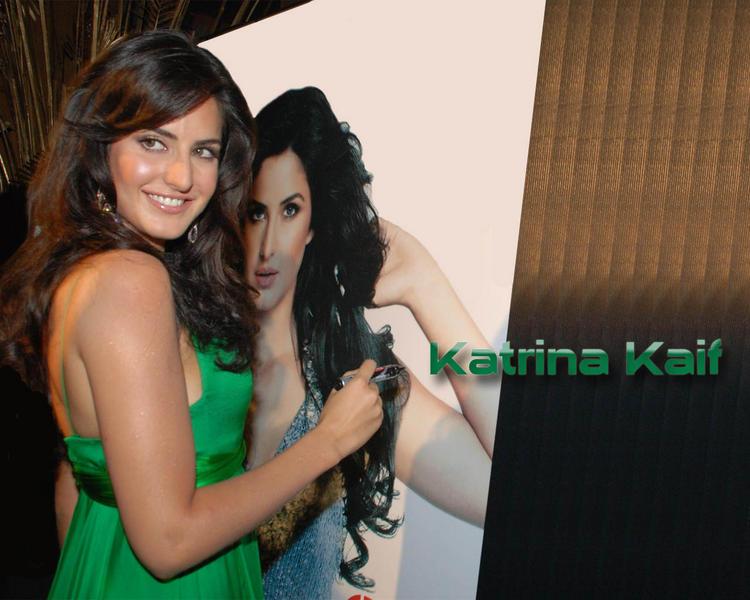 Katrina Kaif With Her Photo Wallpaper