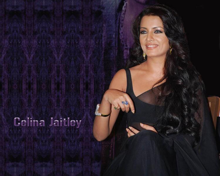 Celina Jaitley Smiling Wallpaper