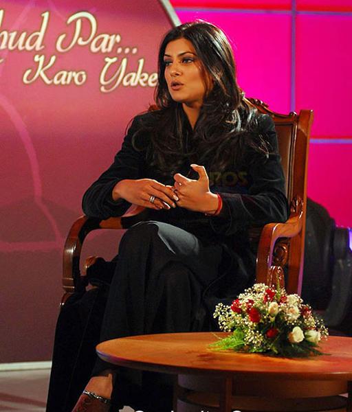 Sizzling Actress Sushmita Sen Still
