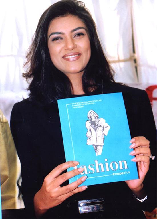 Sushmita Sen Fashion Magazine Launch Still