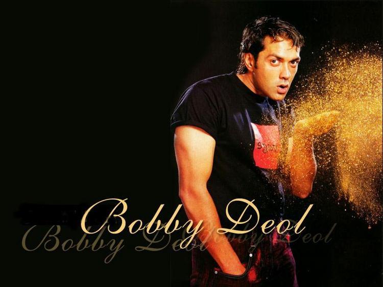 Actor Bobby Deol Amazing Look Wallpaper