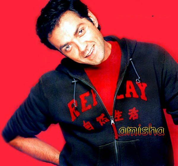 Bobby Deol Cool And Smiling Wallpaper