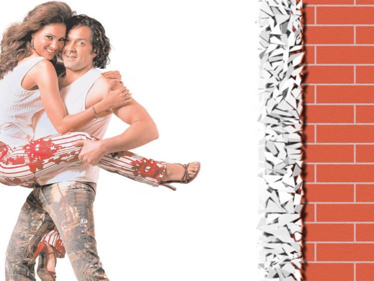 Bobby Deol With Lara Dutta Wallpapers