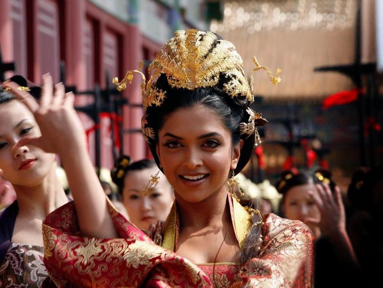 Deepika Padukone In Chandni Chowk To China