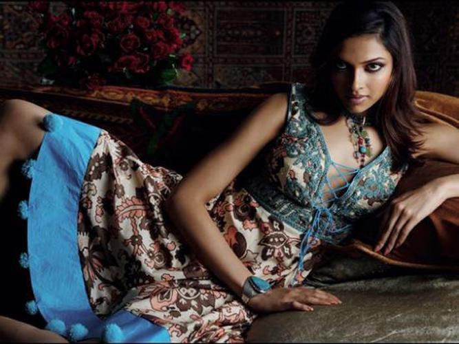 Deepika Padukone Spicy Pose For Photo Shoot