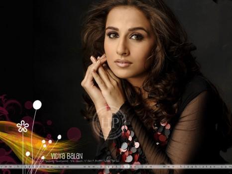 Vidya Balan Fresh And Hot Look Wallpaper