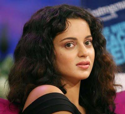 Curly Hair Beauty Kangana Ranaut Pic