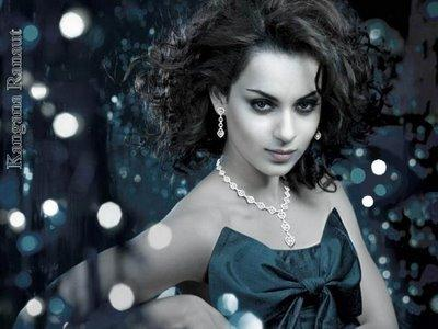 Kangana Ranaut Awesome Attractive Face Look Wallpaper
