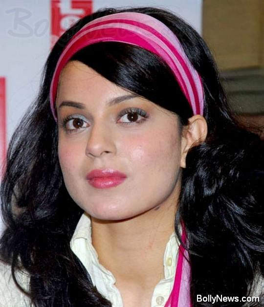 Kangana Ranaut Pink Lips Glamour Still