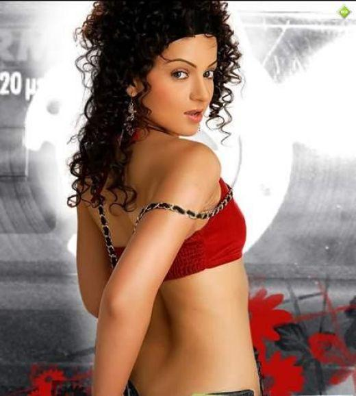 Kangana Ranaut Sexy Pose Photo Shoot