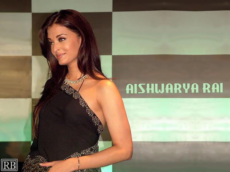 Aishwarya rai Side Face Look Wallpaper