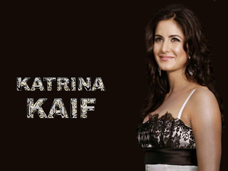 Katrina Kaif Curly Hair Cut Sleeveless Dress Wallpaper