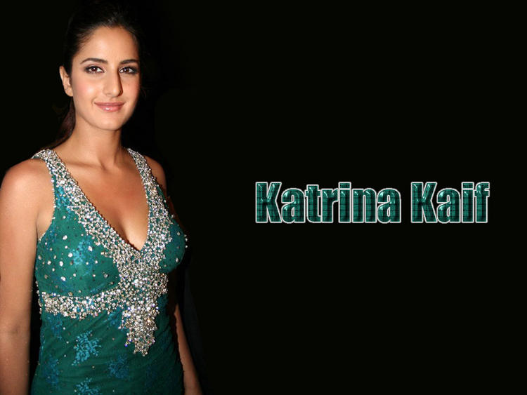 Katrina Kaif Green Dress Sweet Wallpaper