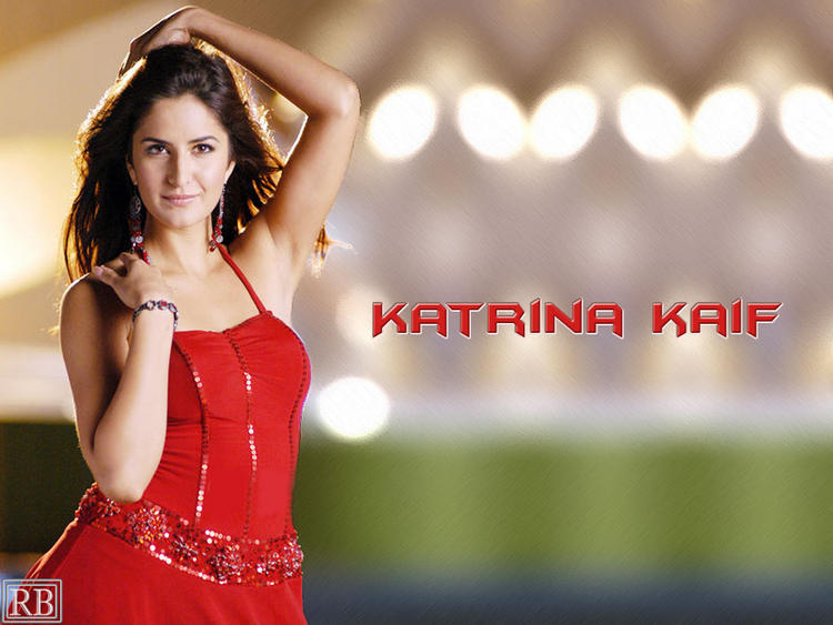 Katrina Kaif Hottest Wallpaper In Red Dress
