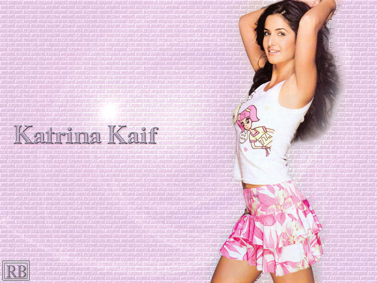 Katrina Kaif Mini Skirt Wallpaper