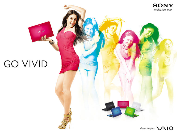 Kareena Kapoor Laptop Ad Wallpaper