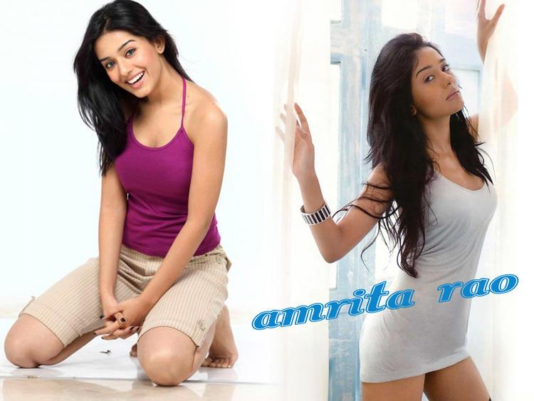 Amrita Rao Cute Hot Wallpaper