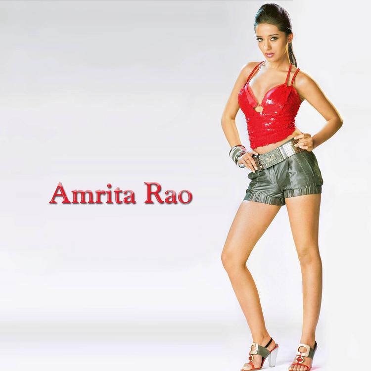 Amrita Rao Sexy and Hot Pose Wallpaper