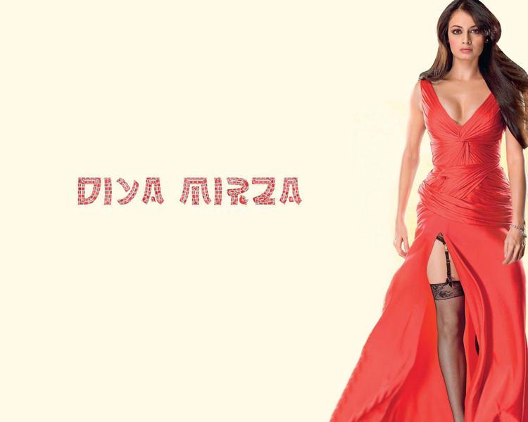 Diya Mirza Amazing Hot Look Wallpaper