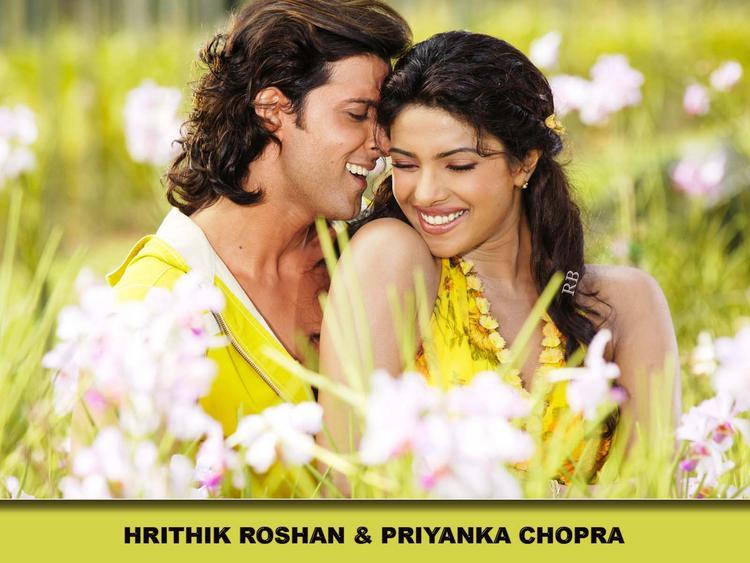 Priyanka Chopra And Hrithik Roshan Wallpaper