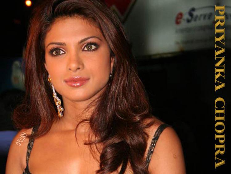 Priyanka Chopra Charming And Spicy Look Wallpaper