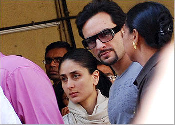 Saif Ali Khan and Bebo Hot Look Still