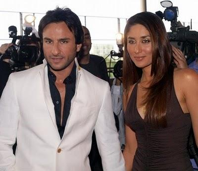 Saif Ali Khan and Kareena Glamour Photo