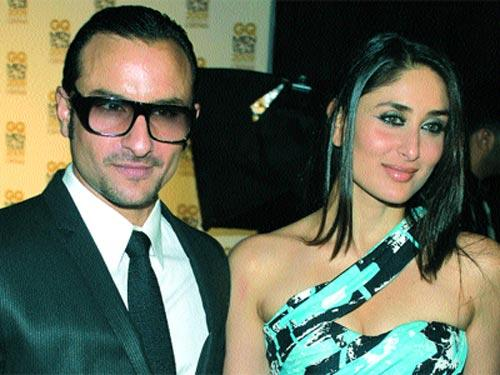 Saif Ali Khan and Kareena Glamour Still