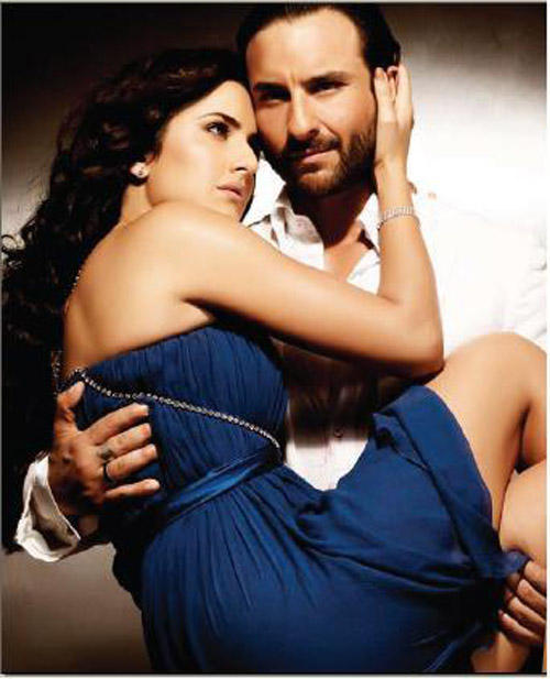 Saif Ali Khan Carring Katrina