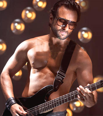 Saif Ali Khan Race Movie Guitar Still