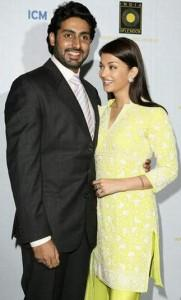 Abhishek Bachchan and Aish Sweet Smile Pic