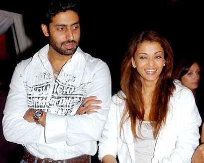 Abhishek Bachchan and Aish Sweet Still