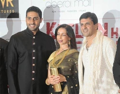 Abhishek Bachchan With Deepika Mom and Dad