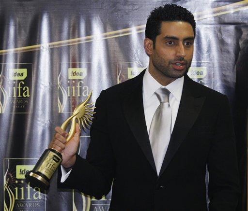 Abhishek Bachchan With IIFA Awards