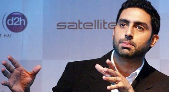 Abhishek Bachchan at Launch of Videocon D2H Satellite