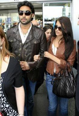 Aishwarya and Abhishek Stylist Photo wearing Goggles